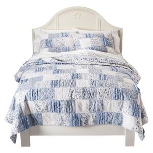 Simply Shabby Chic Bohemian Patchwork Quilt NEW